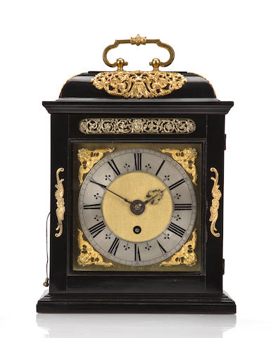 Joseph Knibb ebony quarter repeating timepiece