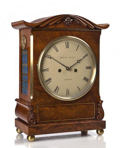 Samuel Evans bracket clock