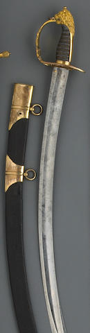 A British Pattern 1803 flank company officer's saber