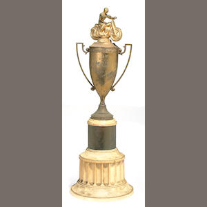 The OCMC winner's trophy,
