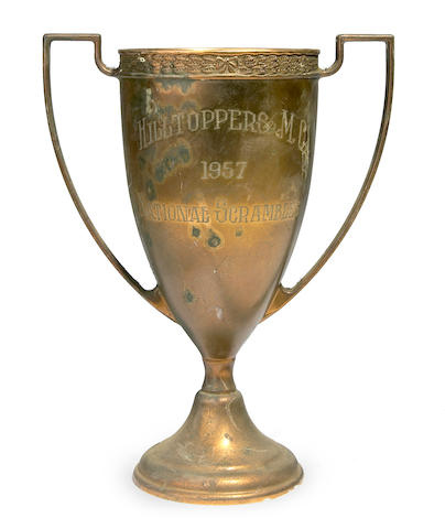 The Hilltoppers MC National Scramble trophy, 1957,