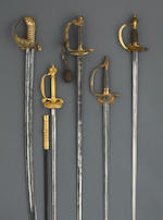 A Royal Navy officer's sword
