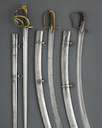 A French An XIII heavy cavalry trooper's sword