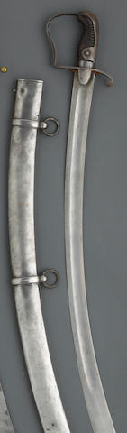 A Prussian Pattern 1811 light cavalry trooper's saber