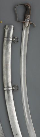 A Prussian Pattern 1811 light cavalry trooper's saber