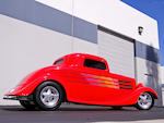 1934 Ford 3-Window Coupe Hotrod