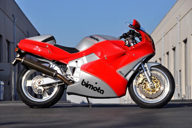 One of 224 built, from the David Edwards collection,1991 Bimota YB10 Dieci Frame no. ZESS8YA25MRZES025 Engine no. 36M900521