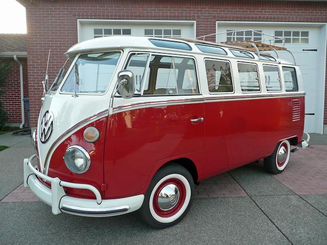 1967 Volkswagen 21-Window Samba Bus  Chassis no. 257024912
