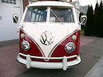 1967 Volkswagen 21-Window Samba Bus  Chassis no. 257024912
