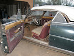 California barn-find, stored since 1972,1949 Hudson Commodore Convertible  Chassis no. 49454452 Engine no. B2101112952