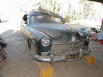 Barn-find, stored since 1972,1949 Hudson Commodore  Chassis no. 49454452 Engine no. B2101112952