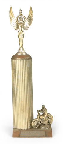 The 1966 MotoX Irvine trophy,