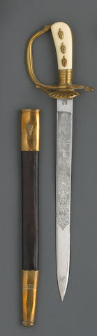 An Imperial German hunting association cutlass