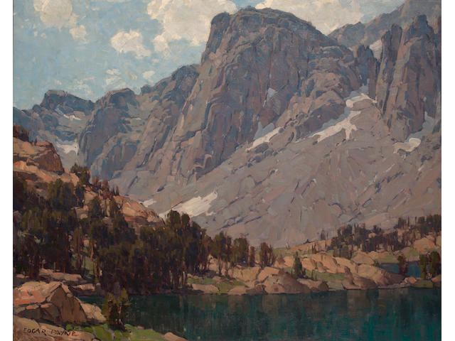 (n/a) Edgar Payne (1883-1947) Payne Lake 40 x 50in