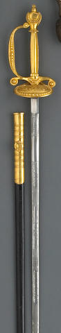 A British diplomatic court sword by Meyer & Mortimer