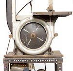 A bandsaw, striped and decorated by Von Dutch,