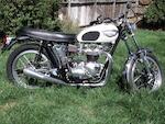 Bud Ekins 'Tribute Triumph',1967 Triumph 649cc TR6R Trophy Frame no. TR6R DU55463 Engine no. TR6R DU55463