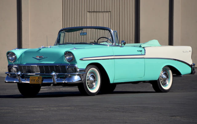 1956 Chevrolet Bel Air Convertible  Chassis no. C56L024055