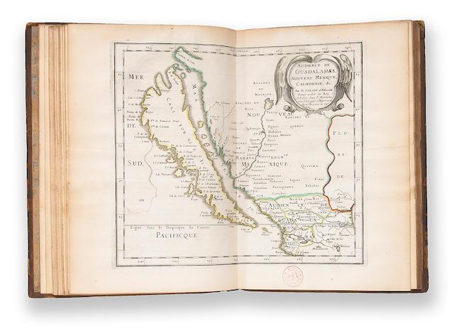 SANSON D'ABBEVILLE, NICOLAS. 1600-1667. L'Amerique en plusieurs cartes nouvelles, et exactes. Paris: By the author, [c.1667].