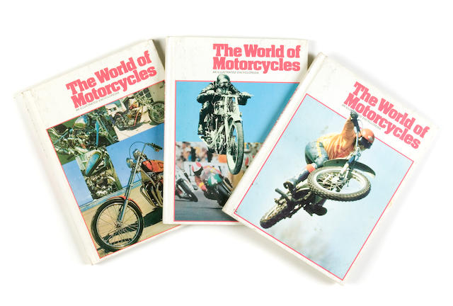A selection of The World Of Motorcycles magazines,