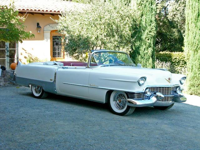 1954 Cadillac Eldorado Convertible  Chassis no. 546253967