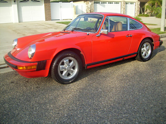 1974 Porsche 911  Chassis no. 9114103141