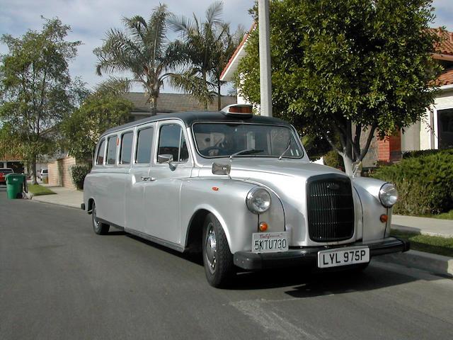 1976 Austin London Taxi Limousine  Chassis no. FX4DR29135X