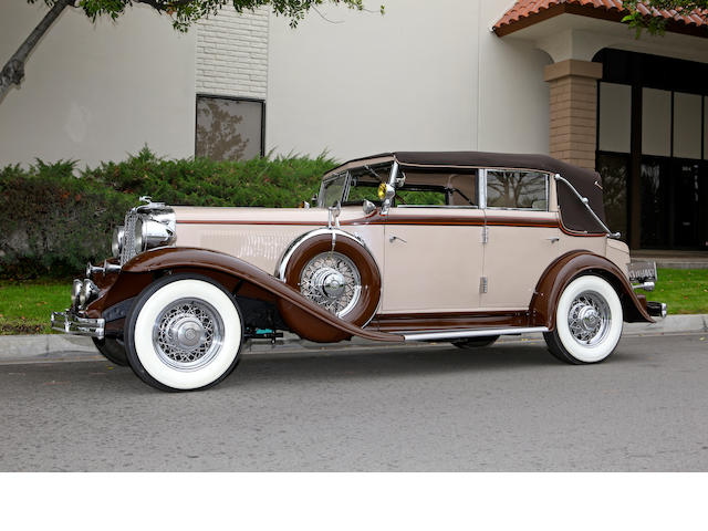 1932 Chrysler CP-8 Convertible Sedan  Chassis no. 7527699
