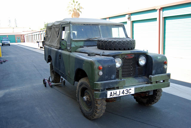 "1963 Land Rover 109"" Safari  Chassis no. 25108402 B"