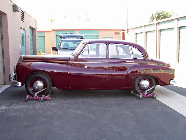 1958 Daimler One-O-Four Saloon  Chassis no. 90174 Engine no. 87758