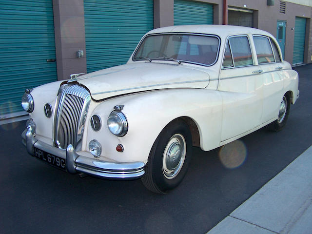 1965 Daimler Majestic Major Saloon  Chassis no. 137662 Engine no. 94484