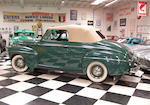 1941 Ford 11A Super Deluxe Convertible Coupe  Chassis no. 6445824
