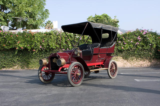 1908 REO 18/20hp Tourer  Engine no. 12120