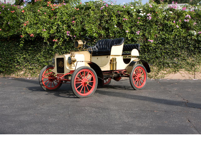 1905 REO 16hp Roadster  Engine no. 1138