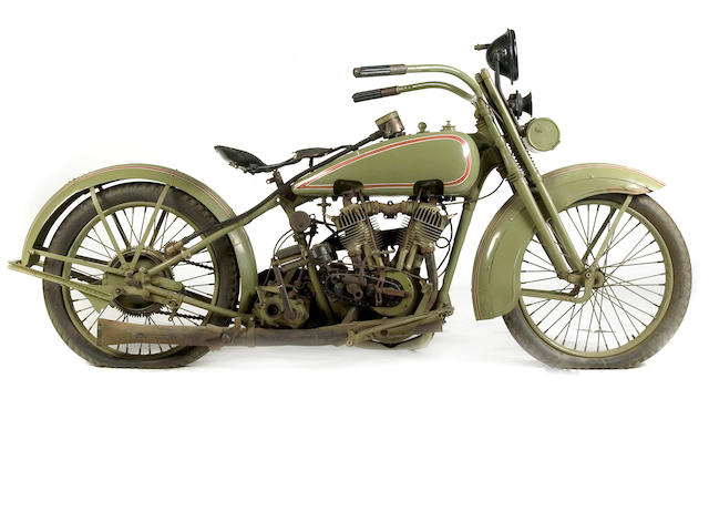 1925 Harley-Davidson JD Engine no. 25JDCB15894