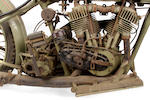 1925 Harley-Davidson JD Engine no. 25JDCB15894