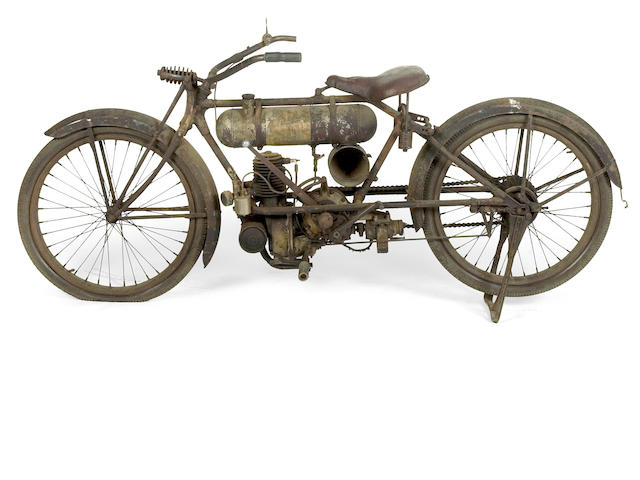 1918 Cleveland 13.5ci Lightweight Motorcycle Engine no. 12273