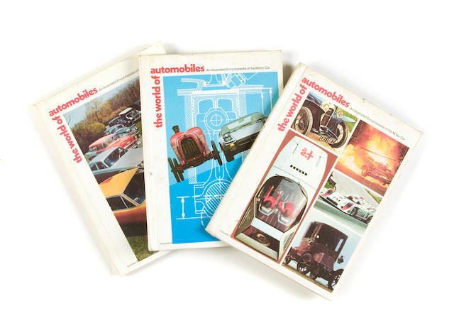 A selection of The World Of Automobiles magazine,