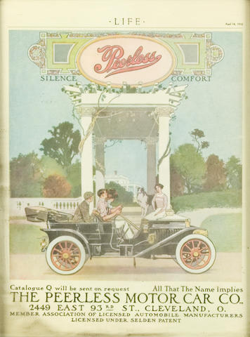 Life Magazine cover, April 1910,