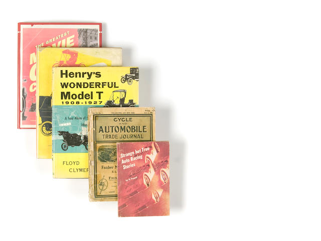 A quantity of assorted motorcar related literature,