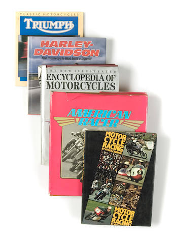 A quantity of assorted motorcycle related books,