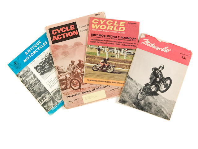 A quantity of various Motorcycle Magazines,