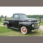 Rare Canadian Model,1950 Ford F-47 Half-Ton Pickup  Chassis no. BD83H50-8939 Engine no. 0E-1085