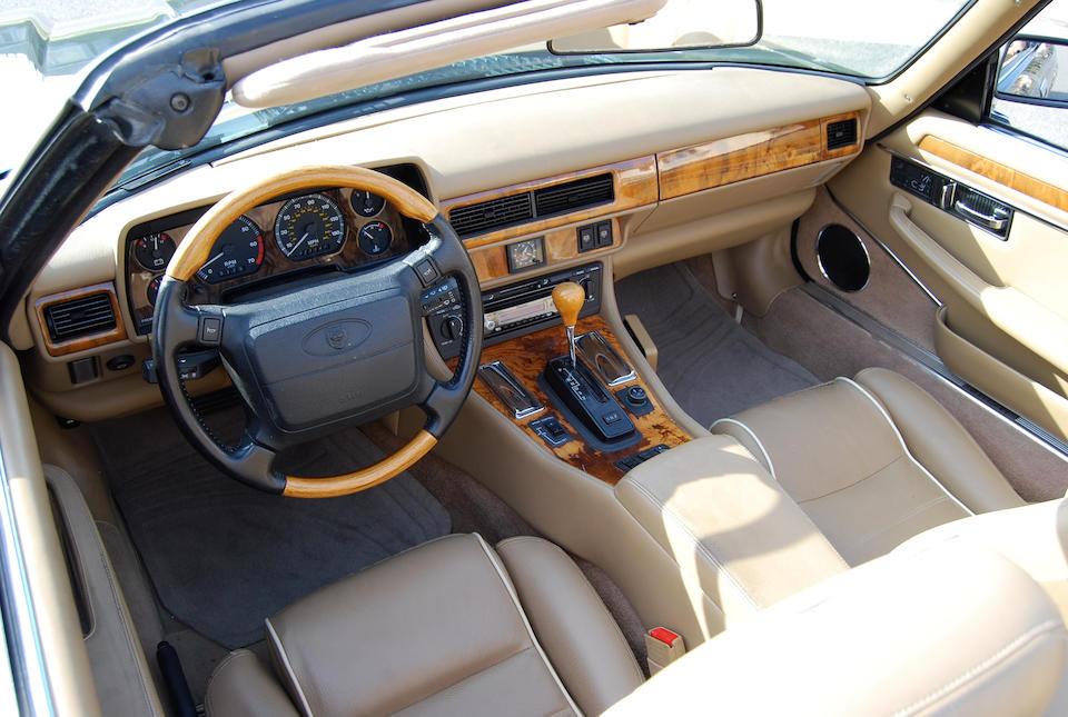 1996 Jaguar XJS Convertible  Chassis no. SAJNX2745TC224598