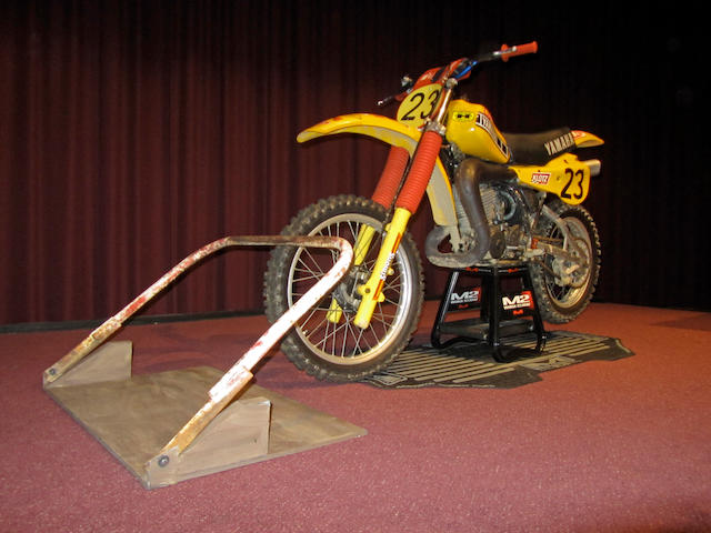 ex-Marty Moates, replica of the motocross bike that made USGP history,1980 Yamaha YZ465  Chassis no. 3R5-0003841