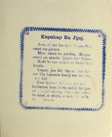 [PONAPEAN BROADSIDE.]
