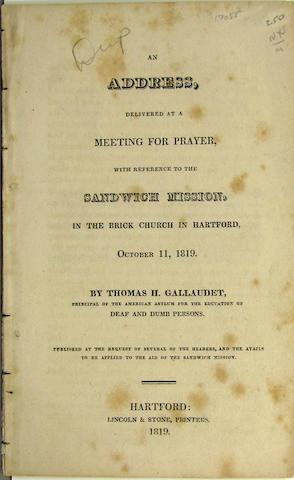 GALLAUDET, THOMAS H.