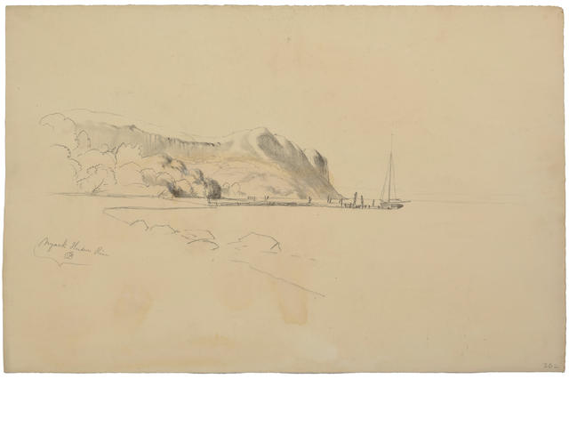David Johnson (American, 1827-1908) Drawings: Twenty various sizes; largest 12 3/4 x 17 7/8in unframed