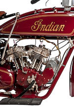 1924 Indian Scout Engine no. 50X395