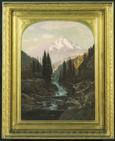 (n/a) William Keith (Scottish/American, 1838-1911) Mt. Shasta, 1878 18 1/4 x 24 1/4in